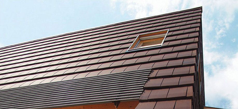 modern clay roof tiles
