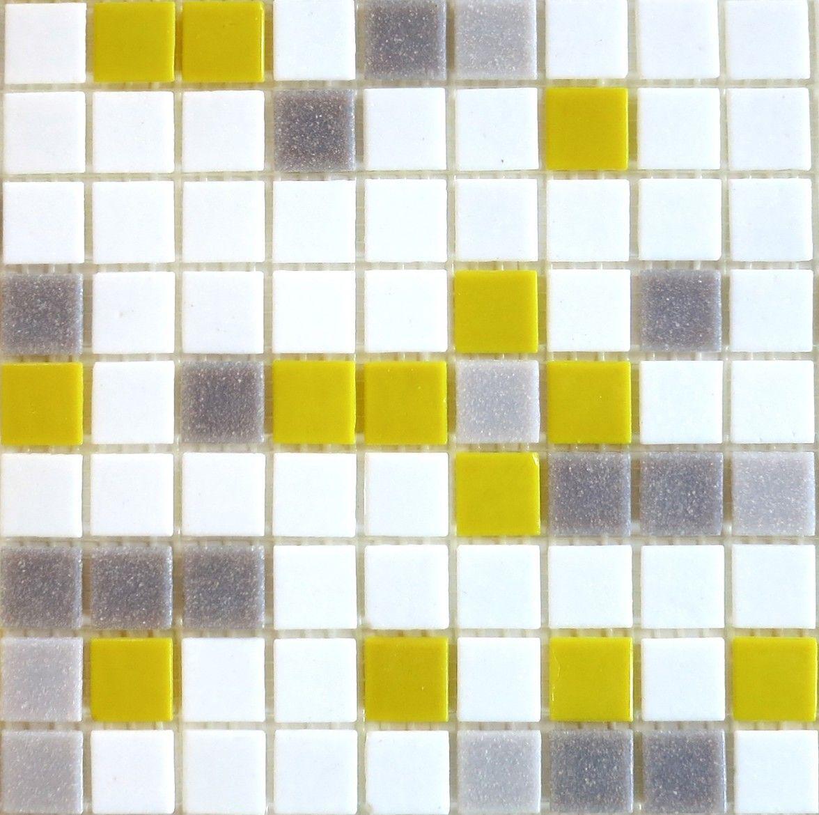 Brio blend city sunshine yellow white gray glass mosaic tile brio blend city sunshine yellow white gray glass mosaic tile dailygadgetfo Images