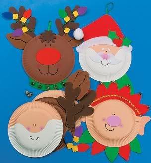 Paper Plate Santa Craft  sc 1 th 233 & Paper Plate Santa Craft | School Christmas | Pinterest | Santa ...