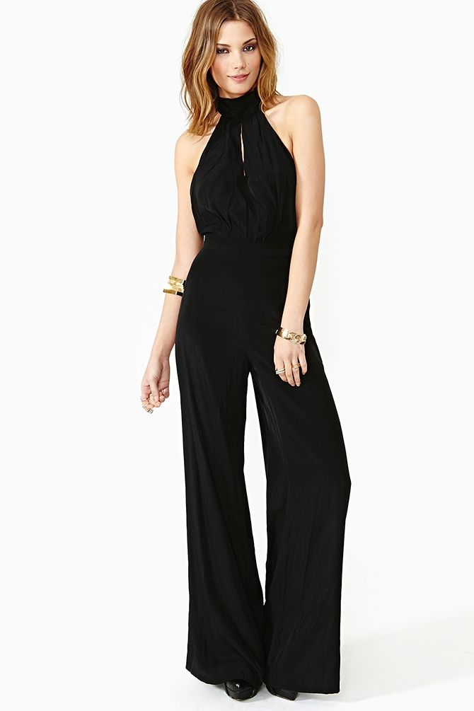 50ecd956059 Bianca Halter Jumpsuit- while I haven t been particularly impressed with  the jumpsuit fad