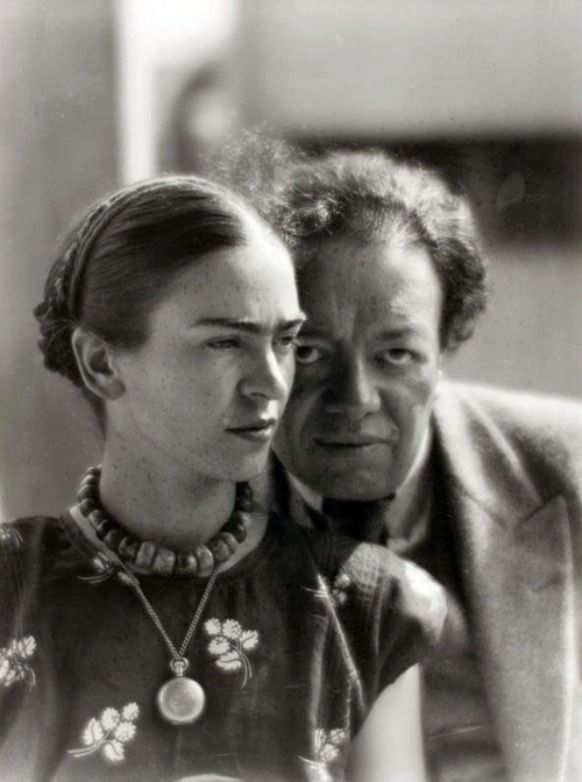 "frida kahlo diego rivera ""creativity is a gift from god"""
