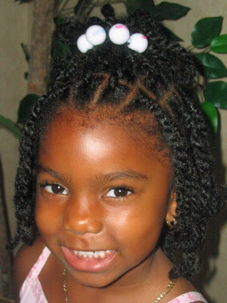 black baby girl braided hairstyles little princess cute