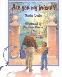 "A beautifully illustrated story of a little boy who takes a walk in the park with his grandfather.  Along the way he meets a variety of people who look different from him.  As he observes the differences in the way people look, he also wonders about the many likes they have in common, prompting him to ask ""are you my friend?"""