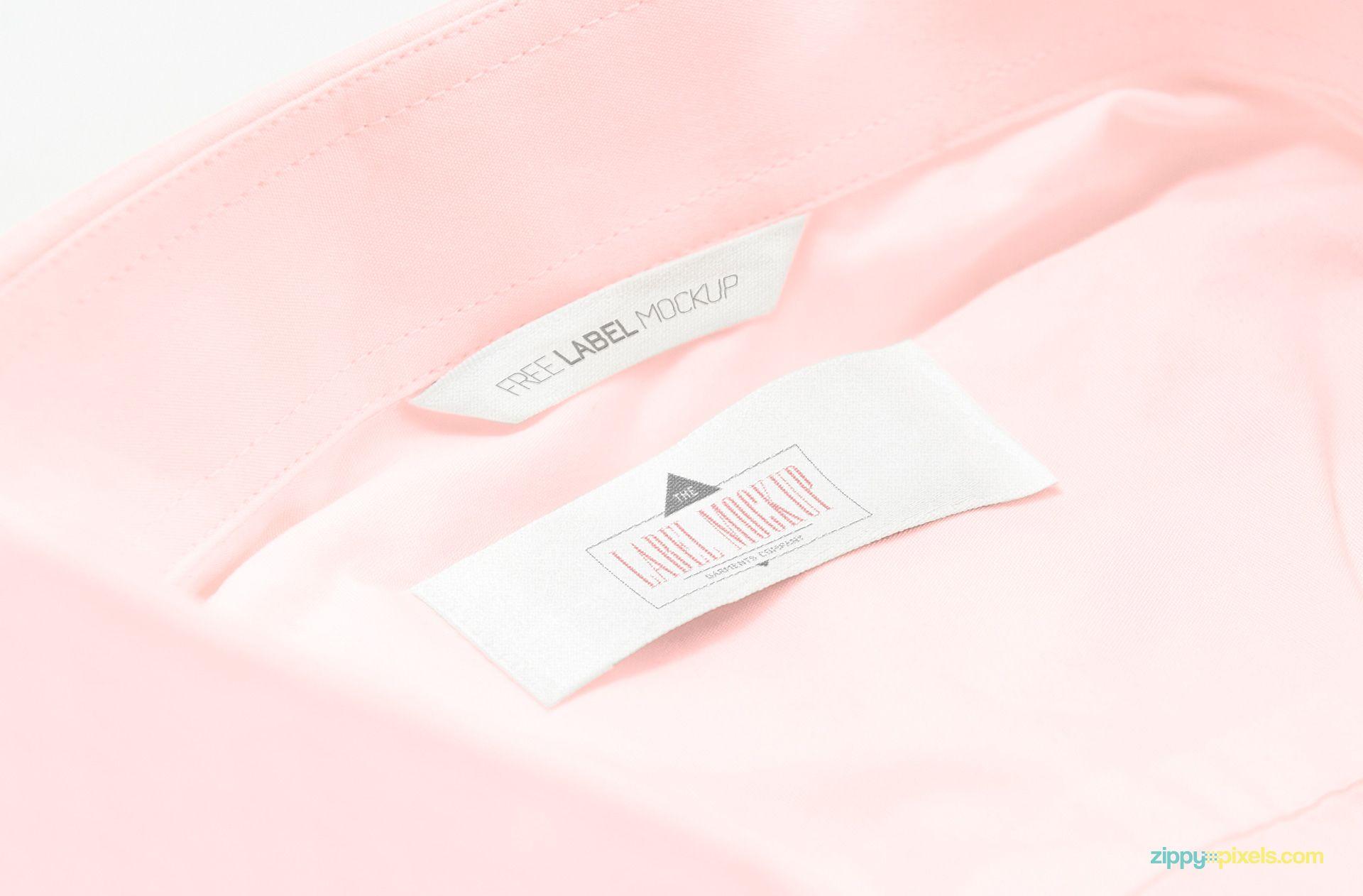 Download 2 Free Clothing Label Mockups Zippypixels Clothing Mockup Clothing Labels Free Clothes