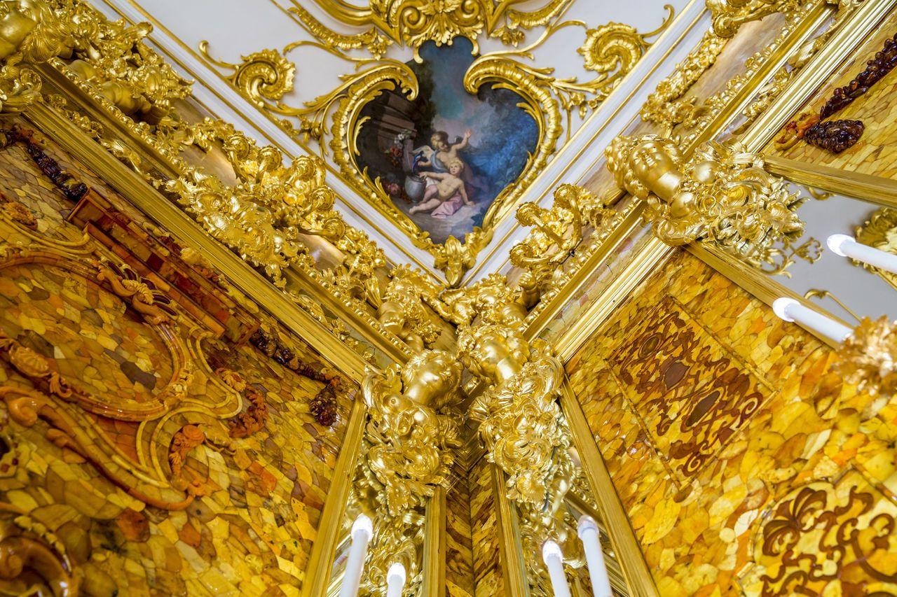 янтарная комната санкт петербург фото