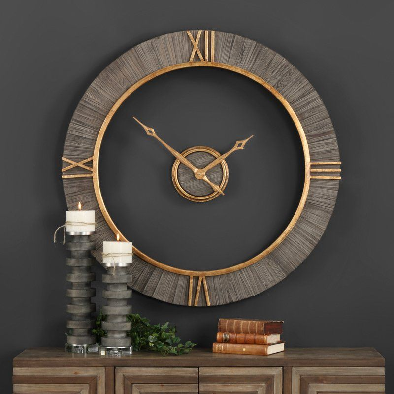 Oversized Modern 39 Wall Clock Wall clocks Clocks and Modern