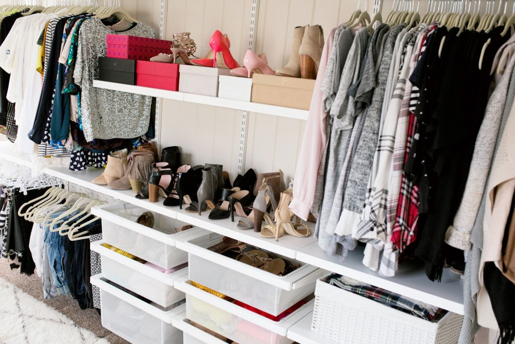 Organizzazione Cabina Armadio : Closet office organization chronicles of frivolity home