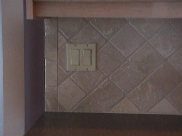 Ceramic Tiles Tile Edge Backsplash