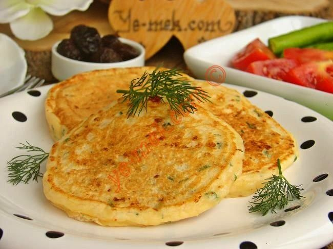 Recipe with Cheese and Fluffy Pancakes - Recipes -Breakfast Recipe with Cheese and Fluffy Pancakes