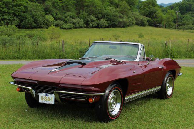 1964 CORVETTE CONVERTIBLE 350 4 SPEED PS PB | Corvette | Corvette