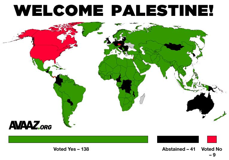 Who voted for palestine at the un general assembly rights who voted for palestine at the un general assembly gumiabroncs Gallery