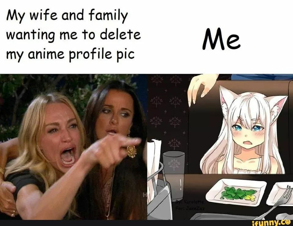 My Wife And Family Wan Ring Me To Delefe My Anime Profile Pic Ifunny Memes Anime Anime Profile