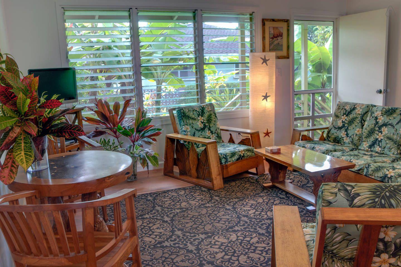Ellies Koloa House near Poipu Beach vacation rental in