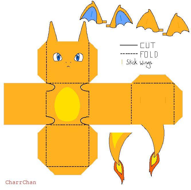 Charizard Papercraft by CharrChan.deviantart.com on @DeviantArt ...