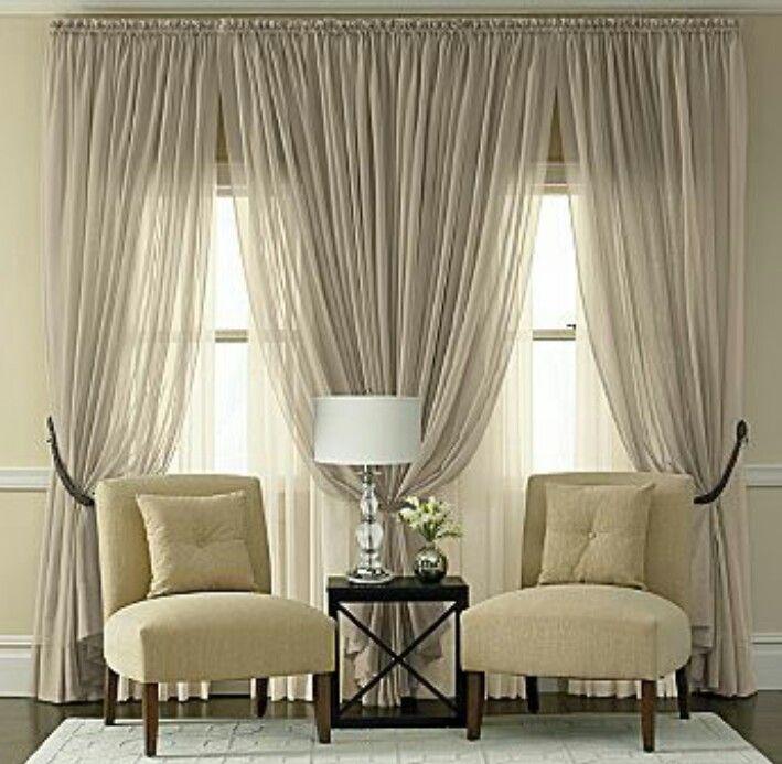 Cute Chic Living Room Windows Curtains Living Room Stylish