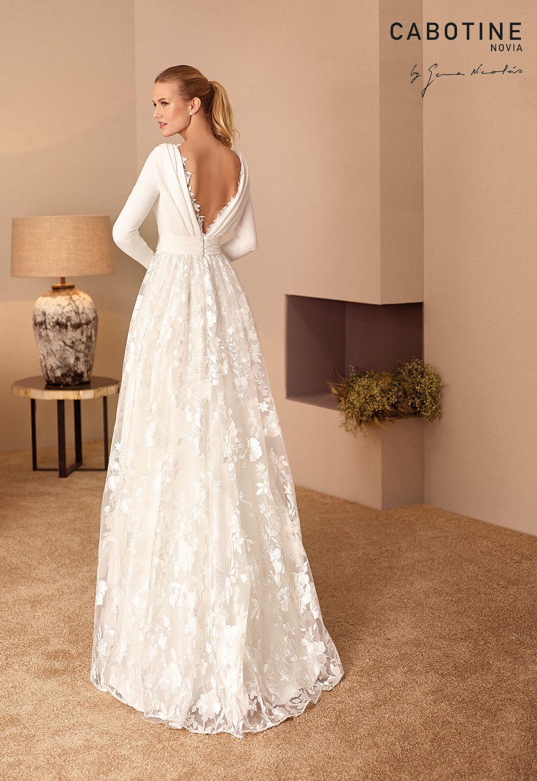 Vestidos de novia cabotine 2019