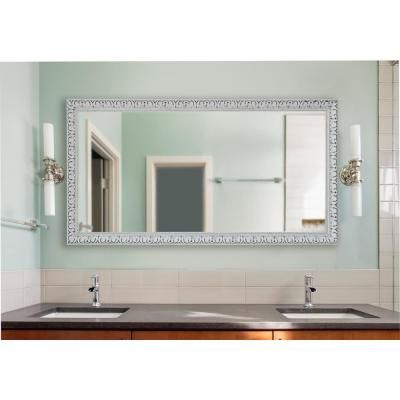 Rayne Mirrors 70 In X 35 In French Victorian White Double Vanity Wall Mirror Vanity Wall Mirror Vintage Bathroom Mirrors Rustic Bathroom Vanities