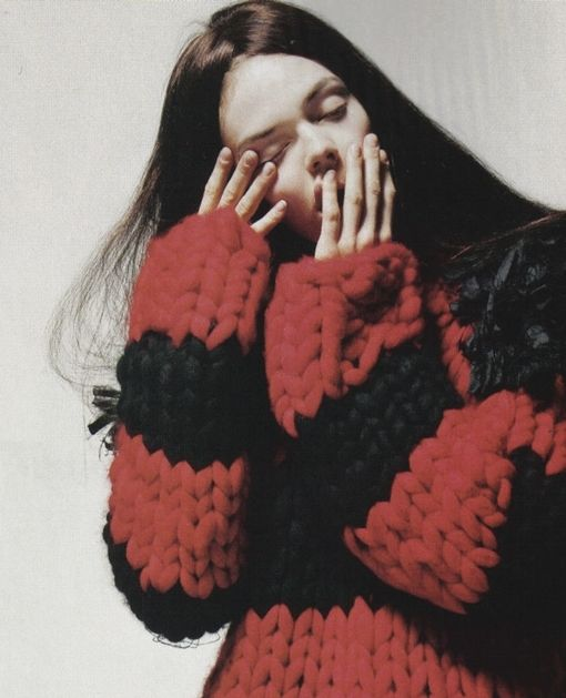 super chunky knit