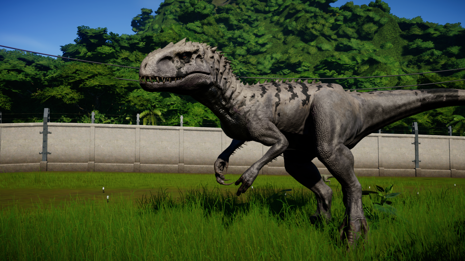 Indominus Rex Jurassic world Evolution. Jurassic world