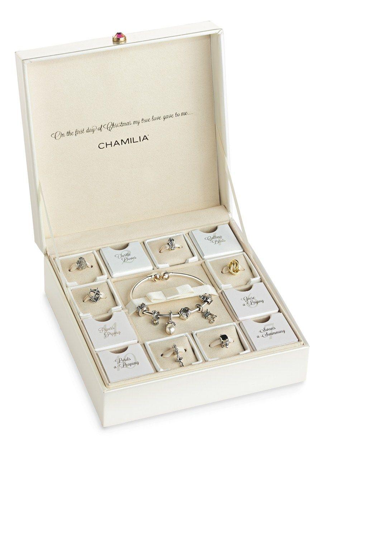 Oprah 12 Days Of Christmas.12 Days Of Christmas Ltd Ed Gift Set Chamilia S Keepsake