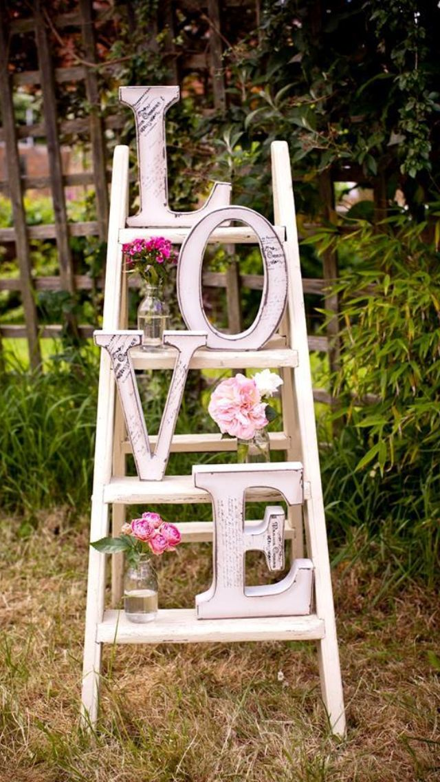 Love Staircase DecorationGarden Pin by