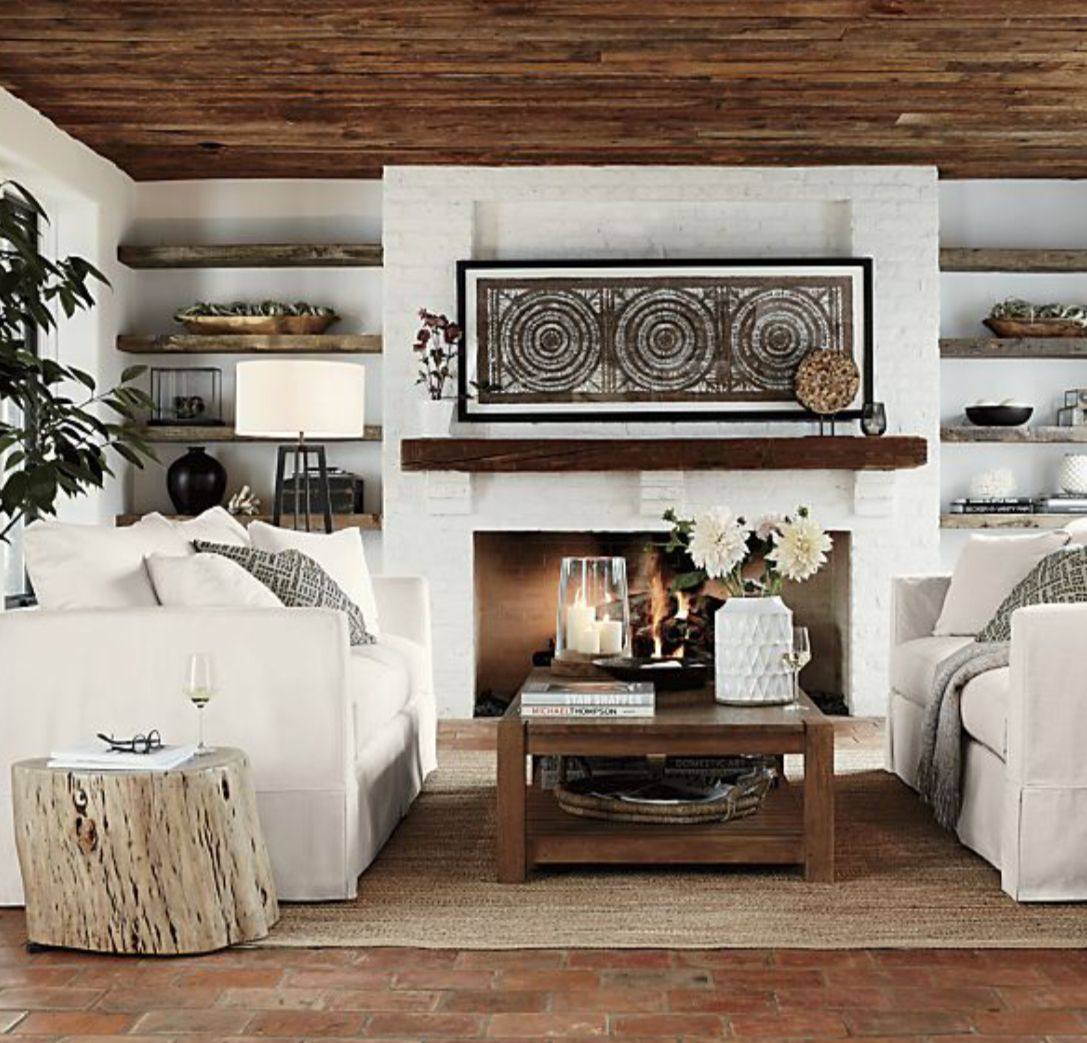 Pin by Paisly13 on Fireplace Room   Quality living room ... on Fireplace Casual Living id=27301