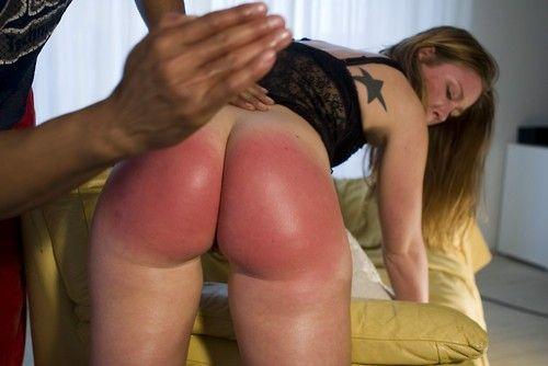 ass bondage red