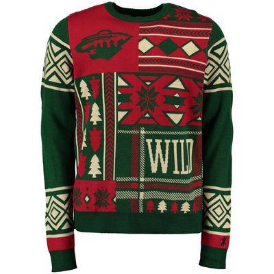 huge discount 4d17a 902b9 minnesota wild ugly christmas jersey