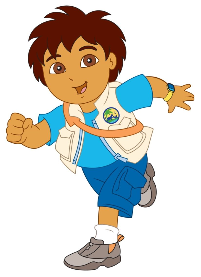 Image result for cartoon dora characters Diego