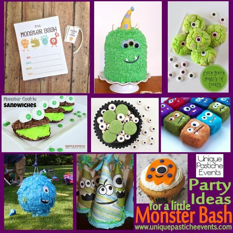 Little Monster Bash Ideas