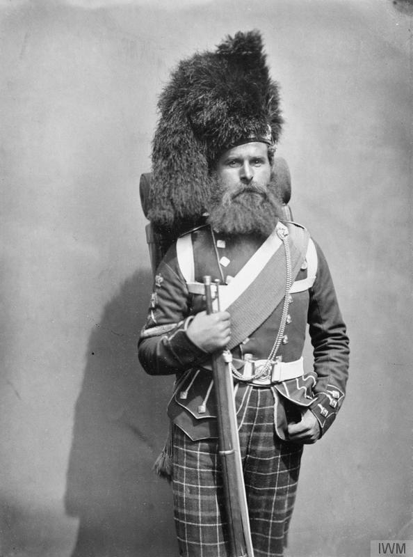 Colour Sergeant Andrew Taylor, 42nd Highlanders.   © IWM (Q 71647)