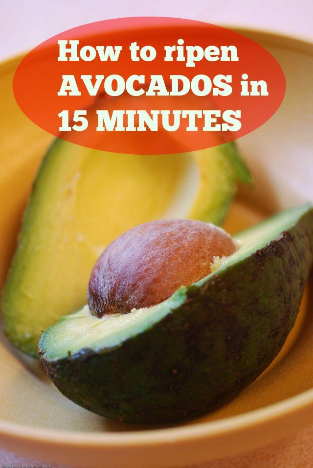How To Ripen Avocados In 15 Minutes Onejive How To Ripen Avocados Avocado Recipes Cooking Recipes