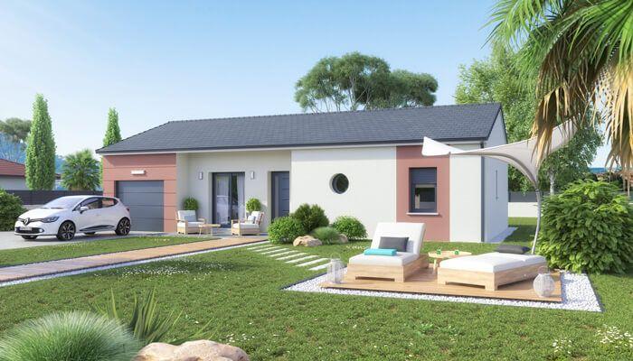 Nouveau look pour notre modèle de maison Ariane Découvrez cette - plan de maison en l de plain pied gratuit
