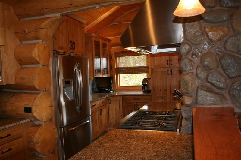 Custom Log Cabin Kitchen Aspen Colorado  Kitchen Ideas Fair Colorado Kitchen Design Design Ideas