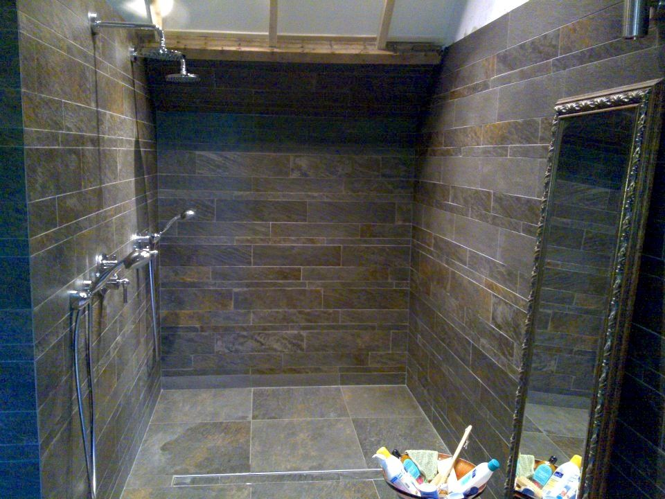 Inloopdouche Met Kraan : Inloopdouche met inbouw kranen badkamer bathroom