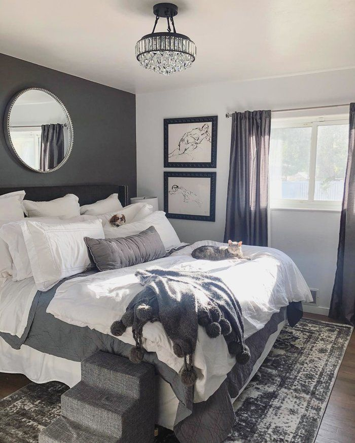 Main Bedroom Decor Pictures: Kynlee 4-Light Semi Flush Mount In 2019