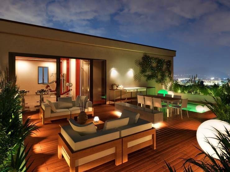 10 idées de toit terrasse moderne terrasse jardinvotre maisonpiscinesdéco