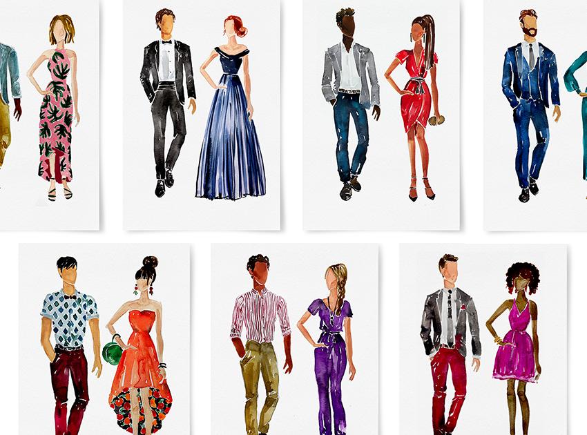 47++ Wedding dress code clipart ideas
