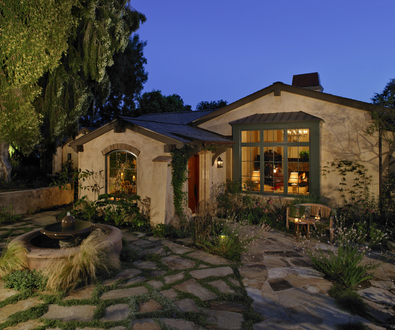 Small Mediterranean Style Home Exterior: Mediterranean Tuscan Style Home/House