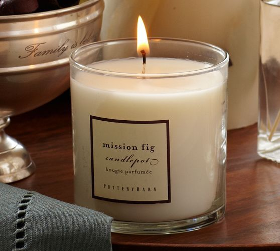 Homescent Collection Mission Fig Pottery Barn Best Candle Scent Ever