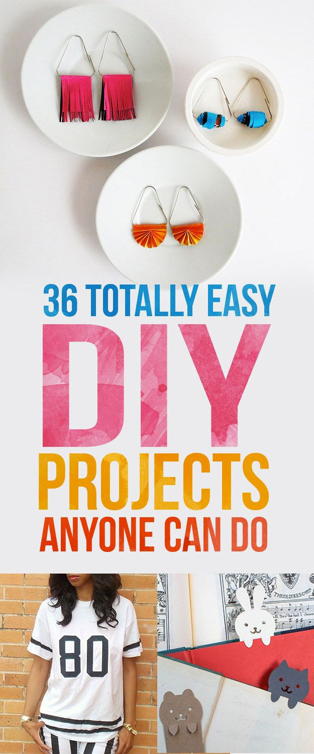 Easy Diy 36 Totally Easy Diy Projects To Try In 2016 Tes House