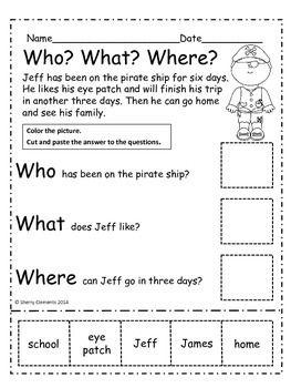 Kindergarten Worksheets   edHelper.com