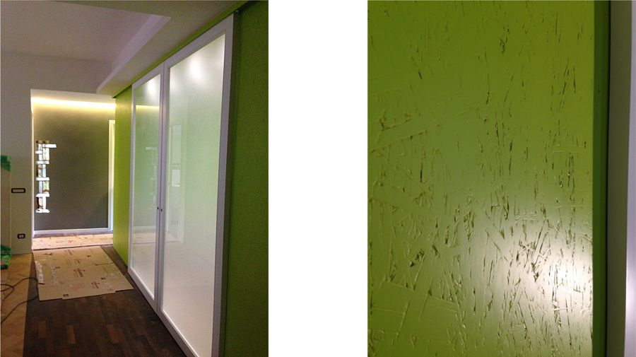 Gallery of foto parete cucina in pannelli osb smaltati de ...