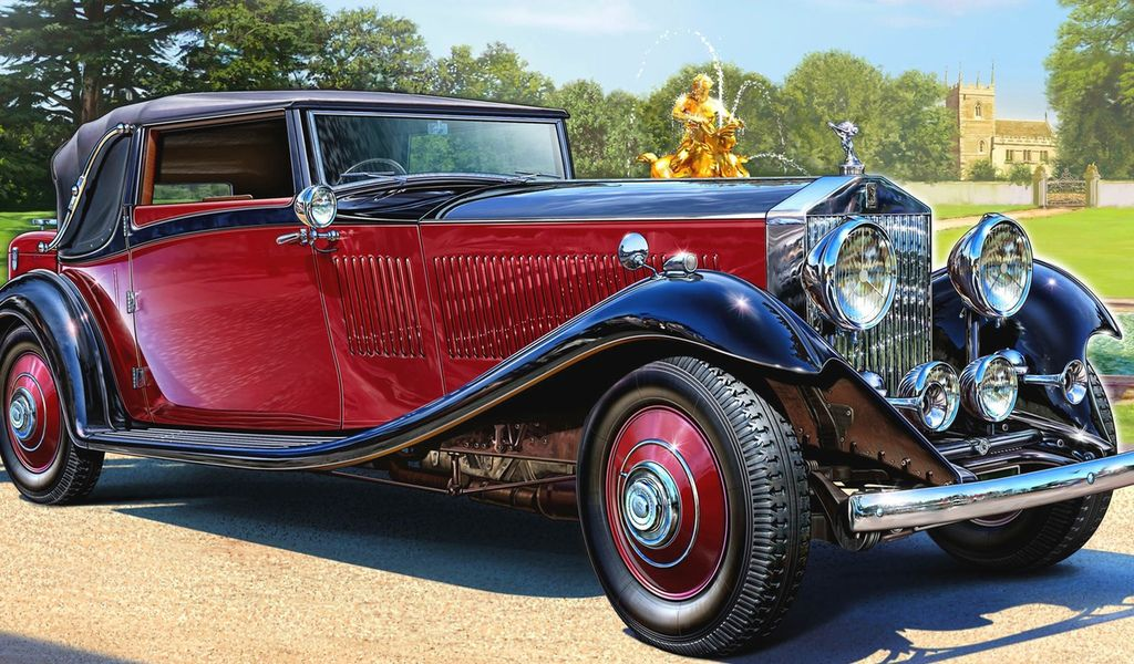 Classy Rolls Royce Phantom II