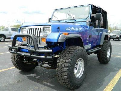 1993 Jeep Wrangler S Jeep Yj Jeep Wrangler Blue Jeep