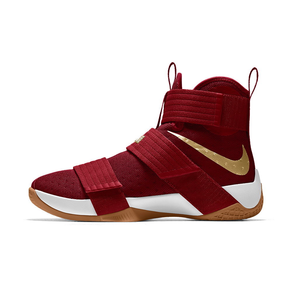 862cec74823e Nike Zoom LeBron Soldier 10 iD Men s Basketball Shoe Size 10.5 (Red ...