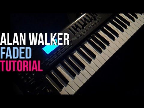 How To Play Alan Walker Fade Faded Piano Tutorial