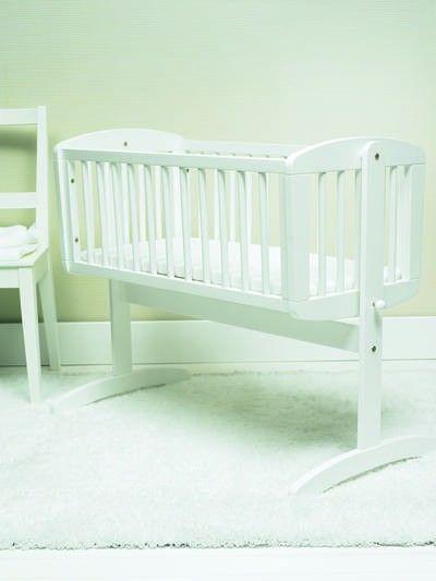 1f8ba8a0d Cuna balancín blanca - Mothercare. | Planes perfectos | Cunas ...