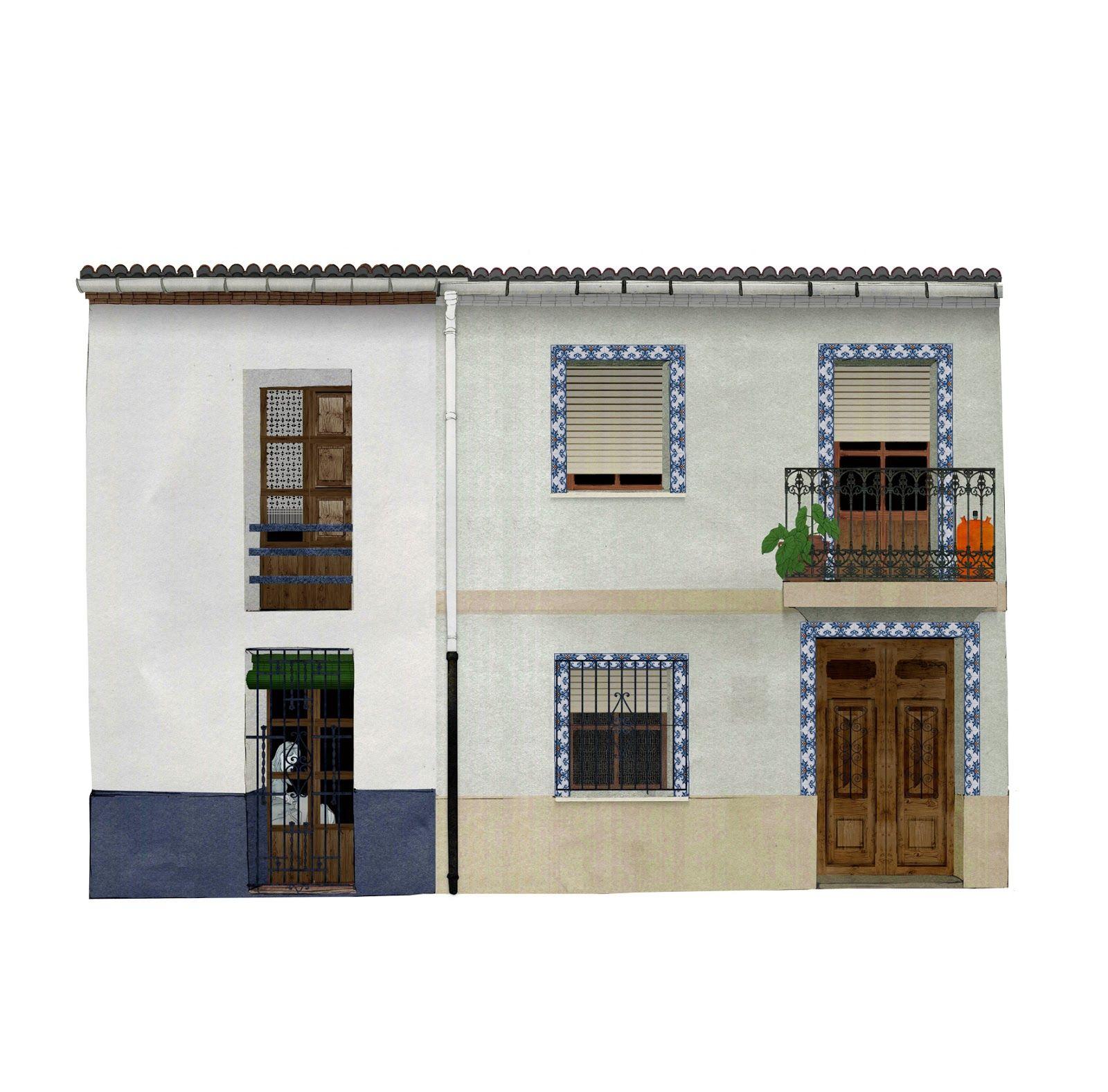 Arquitectura rural, 2 casas