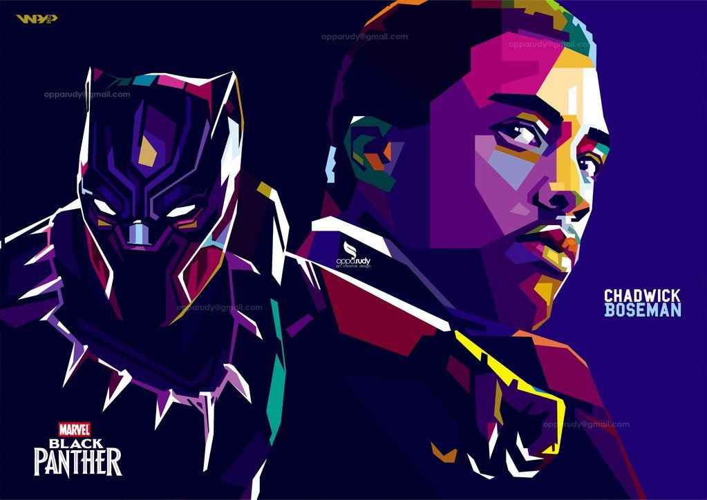 Black Panther Wpap By Opparudy Backpanther Wallpaper Popart Marvel Illustration Black Panther Panther Pictures Wpap Art